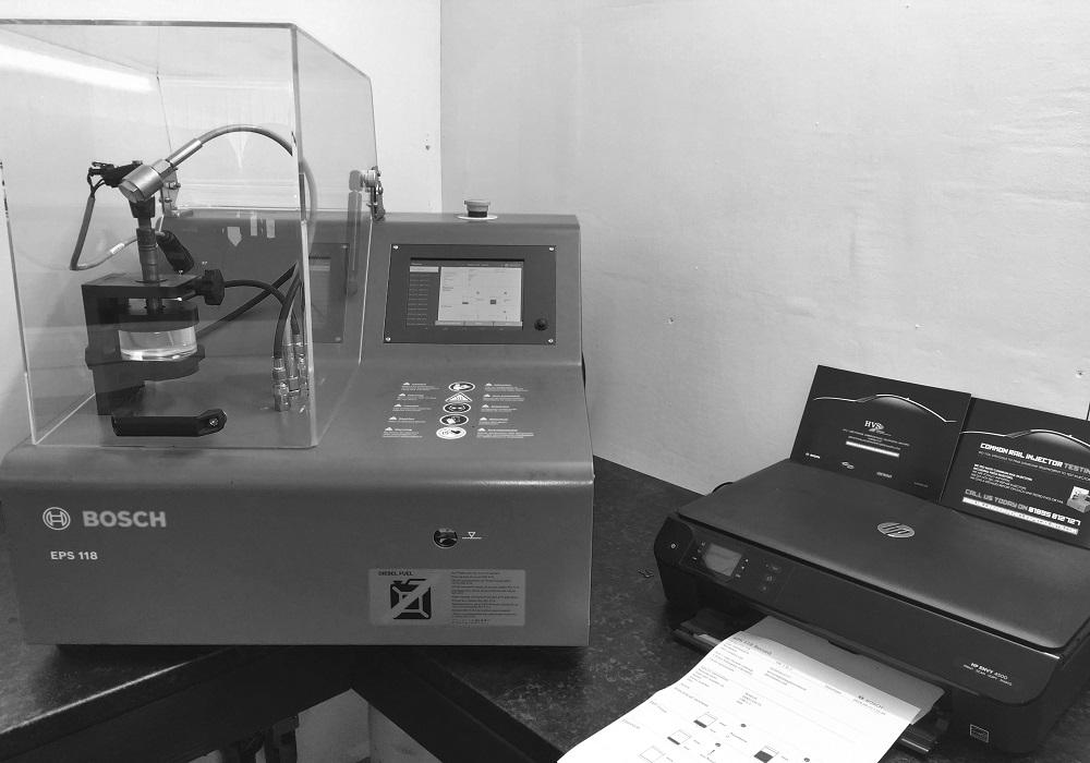 Diesel Injector Testing